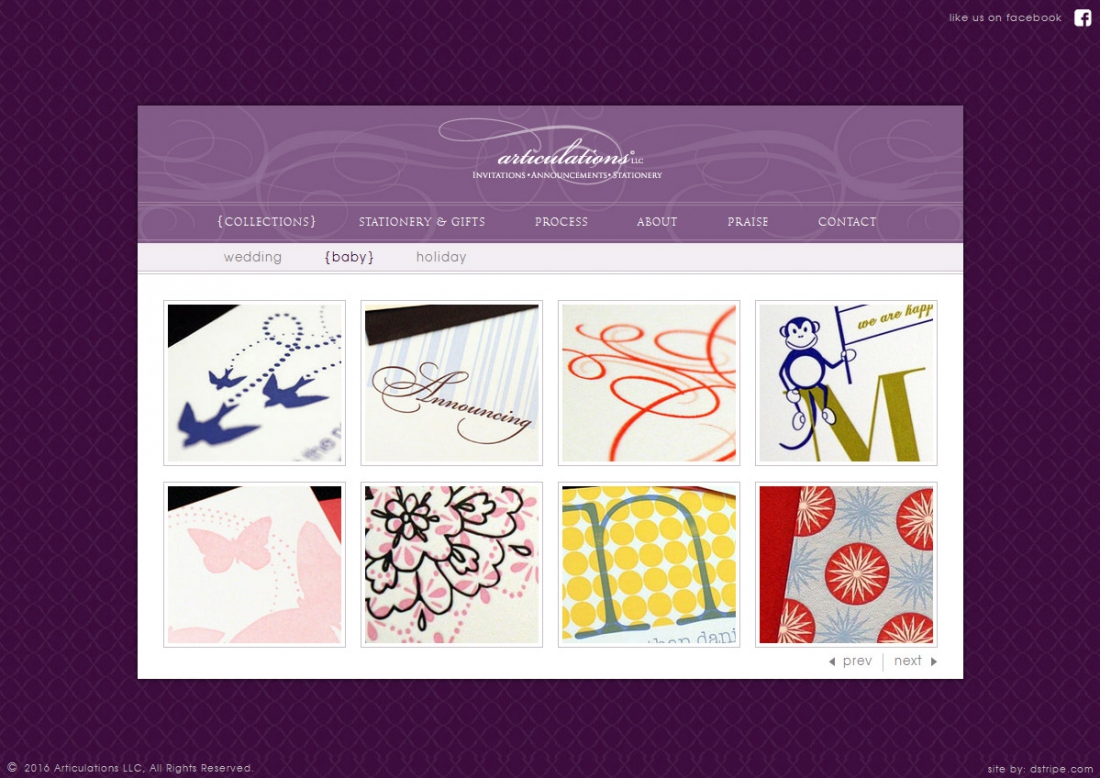 Wordpress Graphic Design Portfolio