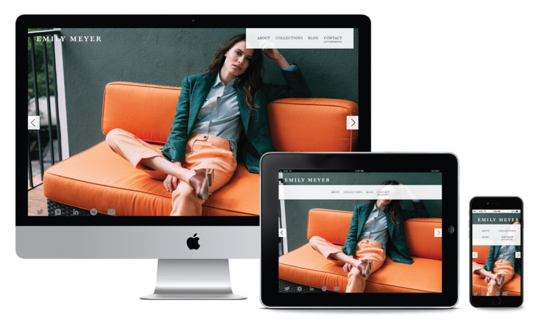 Wordpress Blog Responsive web design