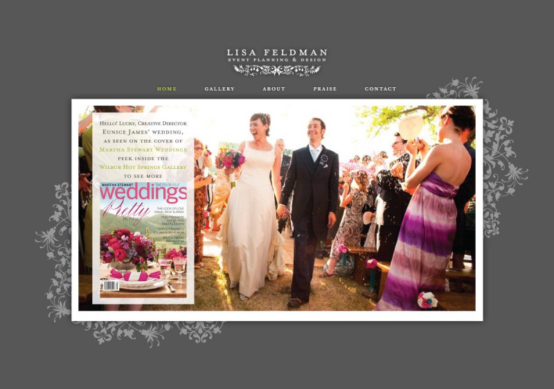 Event Planning Web Design