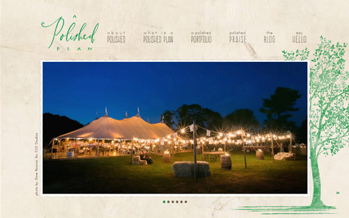 Event planner website