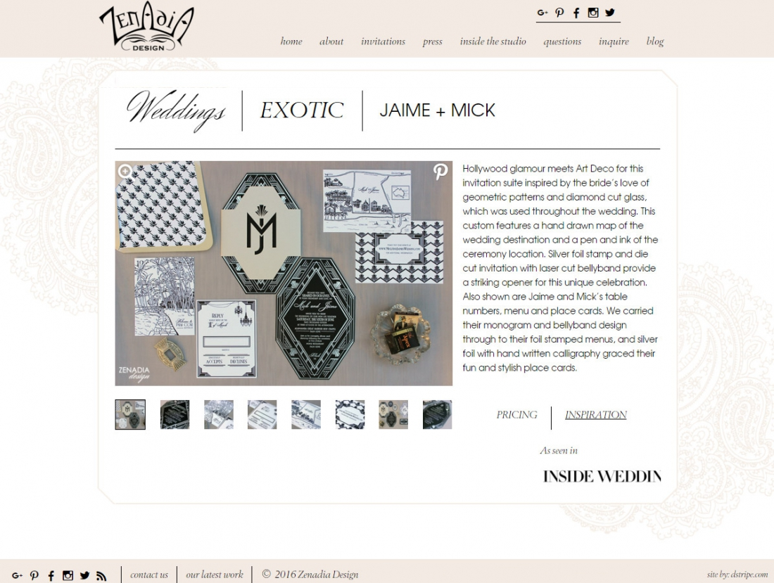 Wordpress Portfolio Website