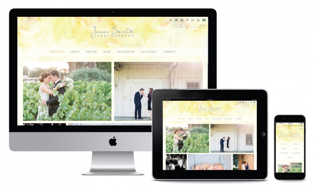 Photography portfolio websites