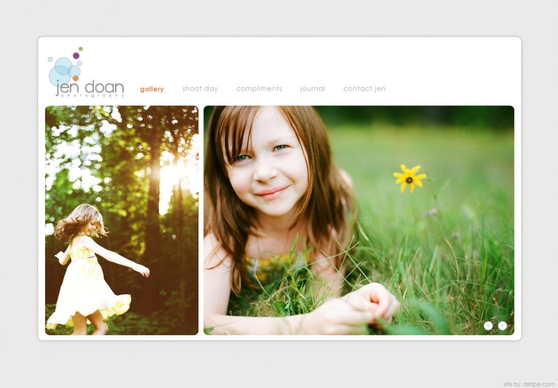 Custom Photography Websites