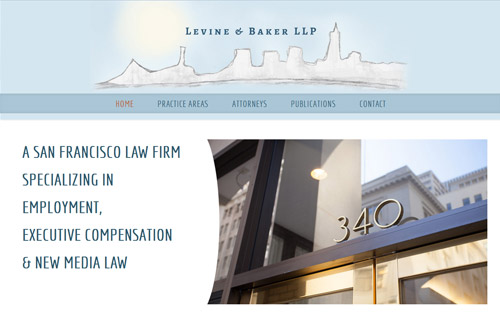 lawyer website responsive web design